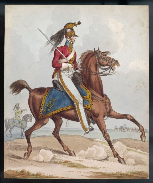 Cavalry officer King's Own Regiment