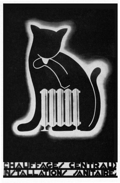 Central heating poster Date: 1931
