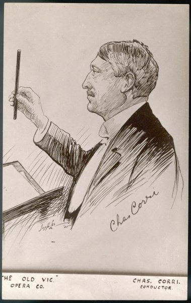CHARLES CORRI Conductor of The Old Vic Opera company