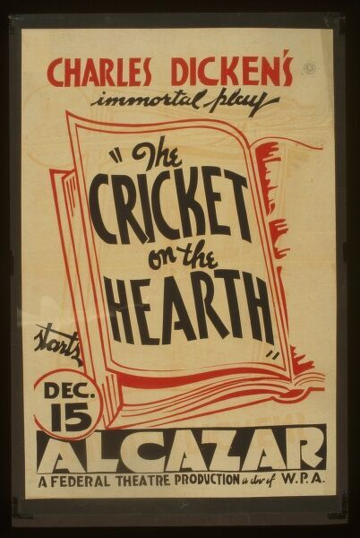 charles dickens the cricket on the hearth
