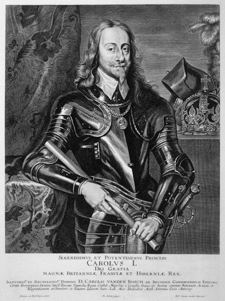 CHARLES I OF ENGLAND reigned 1625-49