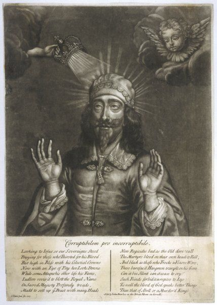 CHARLES I OF ENGLAND The King as Martyr