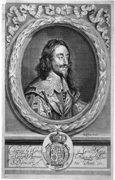 CHARLES I OF ENGLAND Defender of the Faith 1 of 2