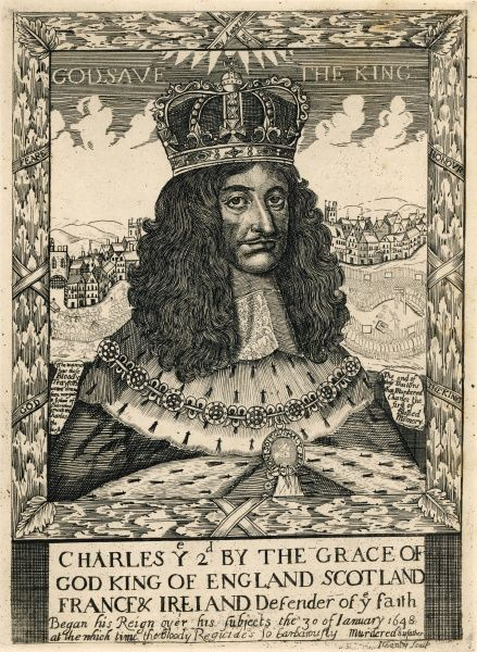 CHARLES II at the time of his accession