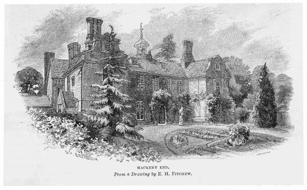 CHARLES LAMB English writer's home at Mackery End, Hertfordshire