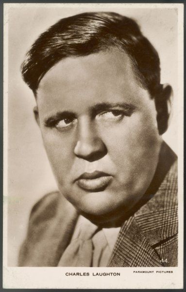 CHARLES LAUGHTON English character actor of stage and film