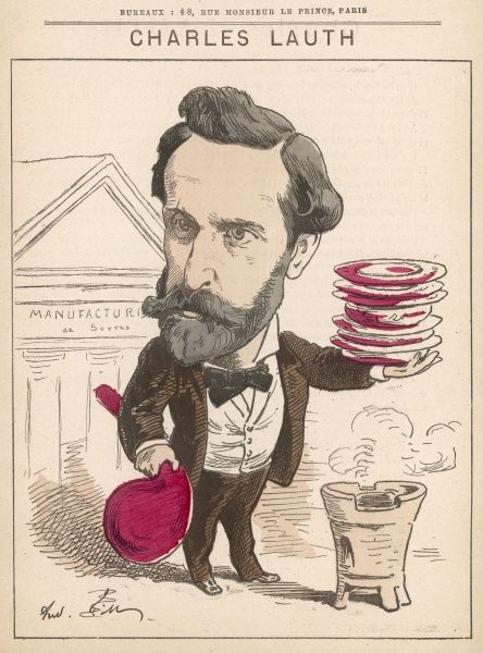 Charles Lauth (1836-1913) English chemist, and inventor of various colors including 'Lauth's violet&#39