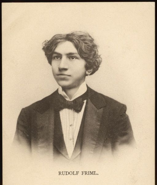 CHARLES RUDOLF FRIML - Czech-American pianist and composer