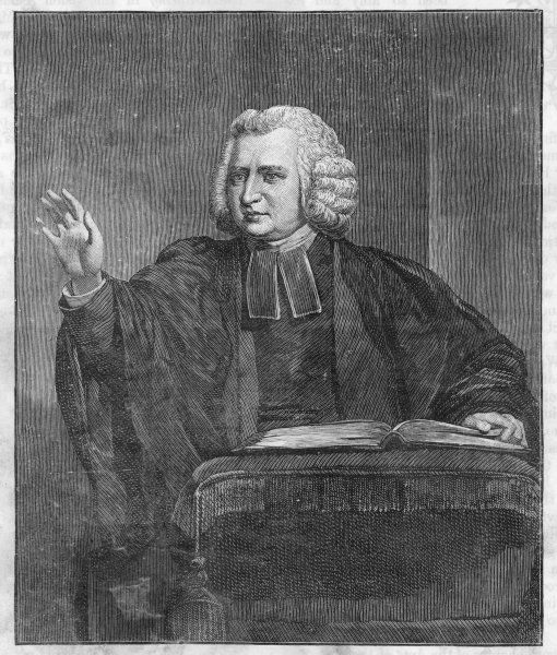 CHARLES WESLEY Methodist divine, not always in agreement with his brother John