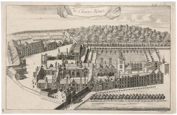 Charterhouse School was founded by Thomas Sutton in London in 1611 on the site of the old Carthusian Monastery in Charterhouse Square, Smithfield