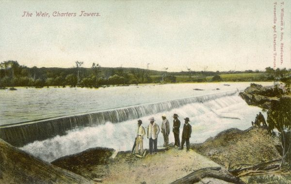 The Weir, Charters Towers, Queensland, Australia