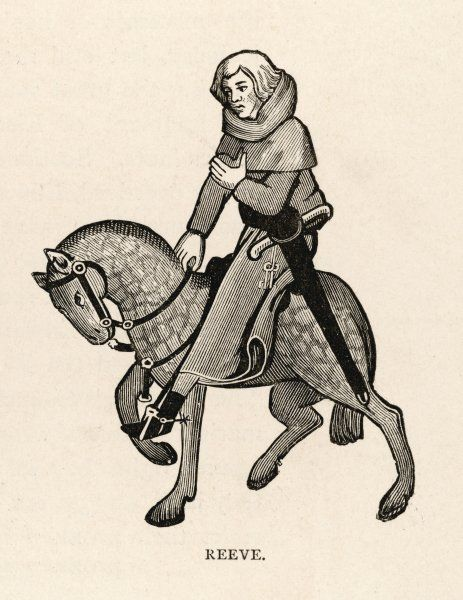 The Reeve was the local officer and representative of the lord of the manor