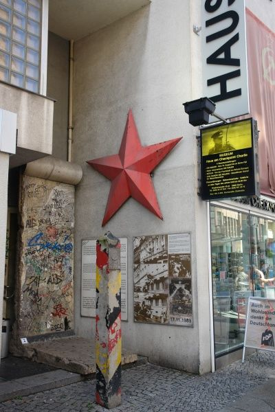 The Checkpoint Charlie Museum in Friedrichstrasse, Berlin, Germany