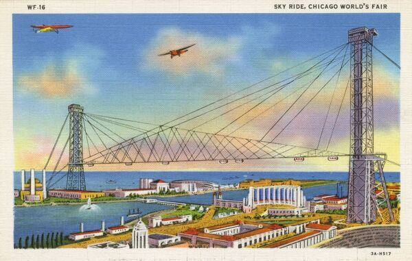 Chicago World Fair - The Sky Ride Date: 1933