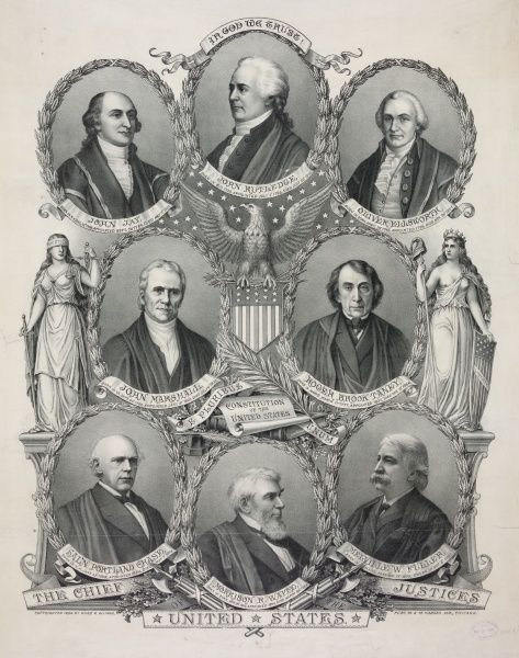 a biography of john marshall the fourth chief justice of the united states of america John marshall served as the 4th chief justice of the us from 1801 to his death in 1835 marshall also served as the secretary of state under president john adams he was also a federalist.