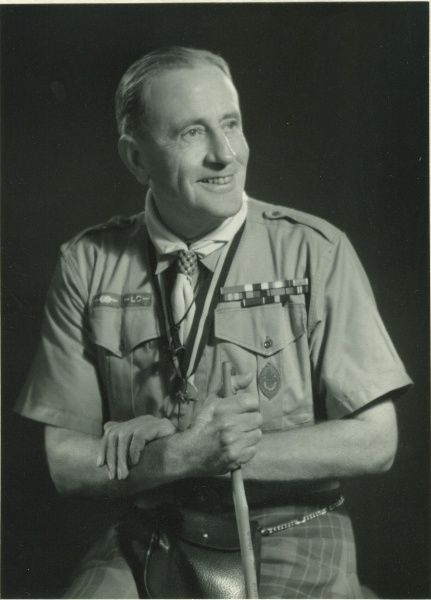 Chief Scout Lord Rowallan in Scout uniform Date: circa 1945