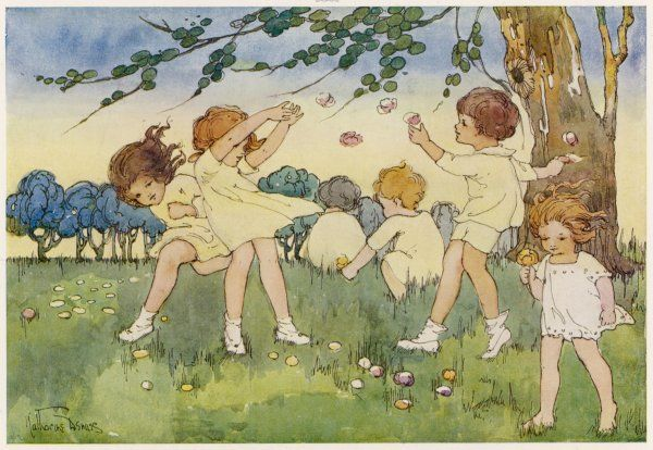 'A Song of Summer': six children play in a meadow on a warm summer's day