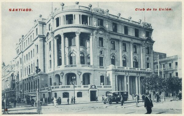 Chile - Santiago - The Union Club (Club de la Union) on Avenue de las Delicias! Date: circa 1910s