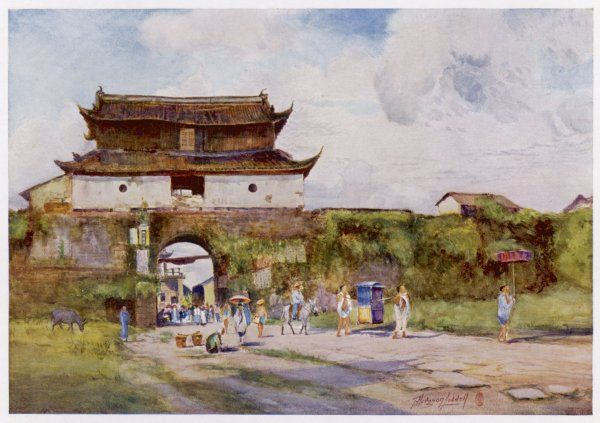Hangchow: the North Gate