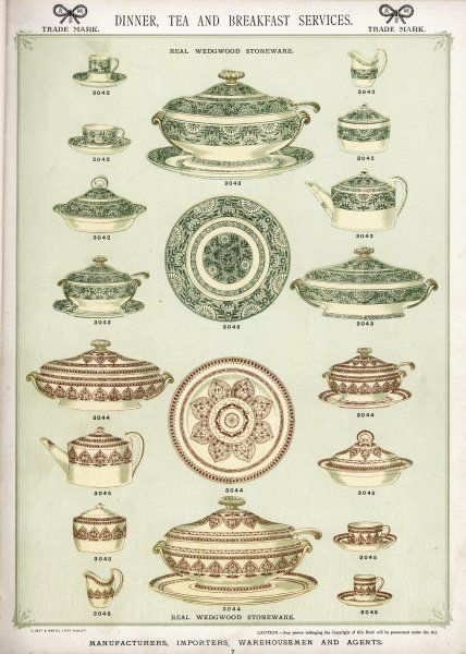 Wedgwood stoneware dinner, tea and breakfast services (plate 7)