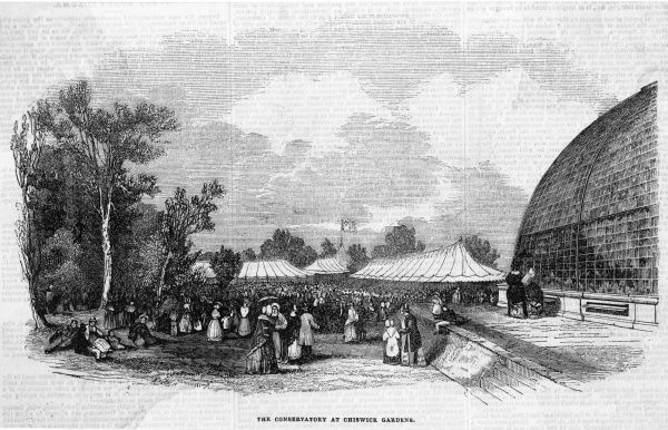 The Conservatory in Chiswick Gardens