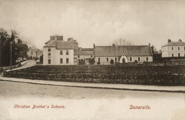 Exterior view of the Christian Brothers' School at Doneraile, County Cork, Ireland. The Congregation of Christian Brothers is a Roman Catholic community founded in the early 19th century. Their first school was opened in Waterford in 1802