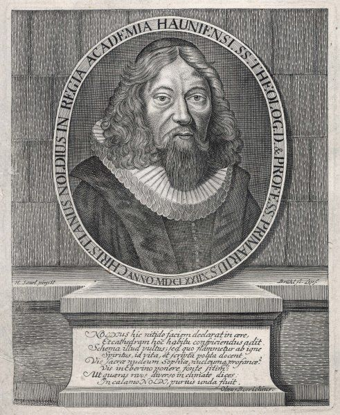 CHRISTIANUS NOLDIUS Philosopher and theologian who wrote Leges Distinguendi