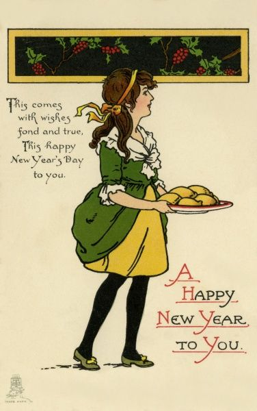 Christmas/New Year. Mince Pies Date: circa 1910