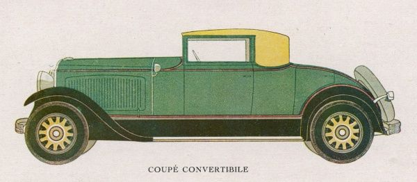 Chrysler Coupe Convertible