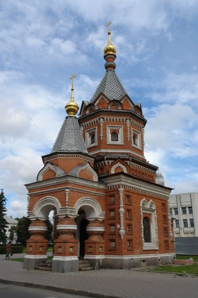 View of the Church of the Prince in Yaroslavl, Russia