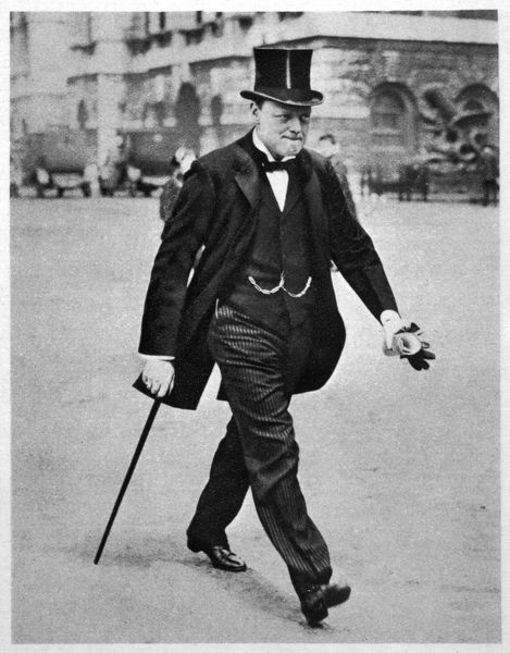 WINSTON CHURCHILL As First Lord of the Admiralty during the political crisis in the early months of the First World War