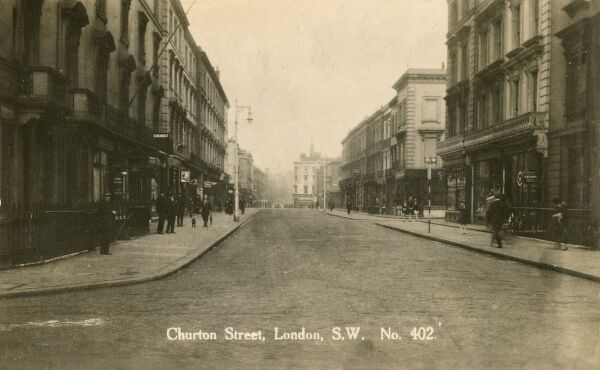 Churton Street, Pimlico, London