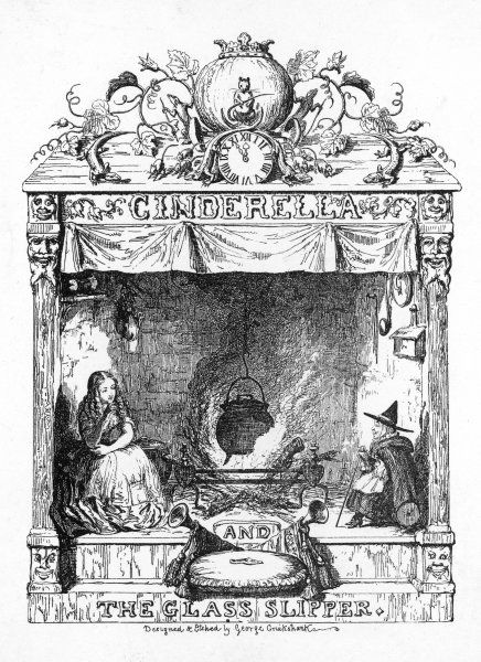 Frontispiece to Cinderella