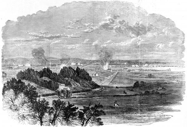Army of the Potomac under General Burnside suffering a defeat at Fredericksburg, Virginia, with the loss of 12,653 men after 14 assaults on the Marye's Heights by the Federal Army