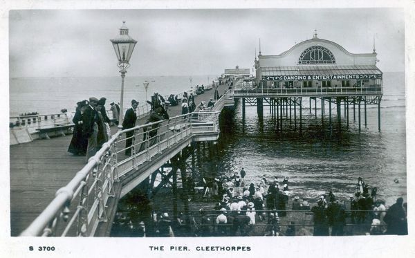 Cleethorpes, Humberside (formerly north-east Lincolnshire): the pier