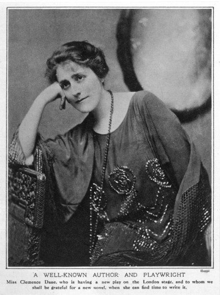 CLEMENCE DANE Pseudonym for WINIFRED ASTON playwright and novelist