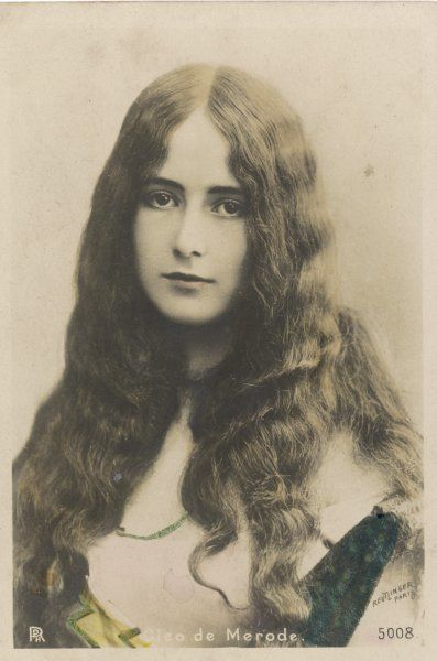 CLEO DE MERODE French actress and dancer who became the mistress of Leopold II of Belgium