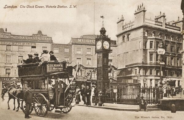 The Clock Tower ('Little Ben'), Victoria Station, Pimlico, London