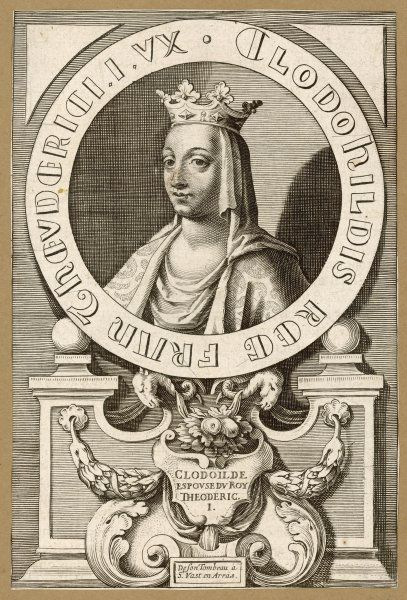 CLODOILDE, QUEEN queen of Thierry III, king of the Franks