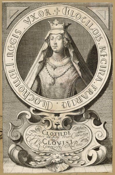 Queen of Clovis I, king of the Franks