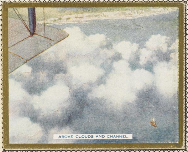 Clouds over the English Channel - nuages au-dessus de la Manche