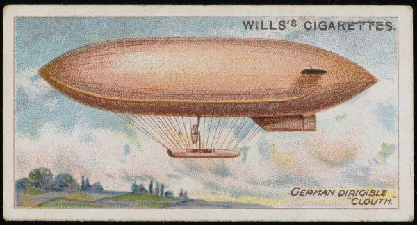 'CLOUTH' military airship