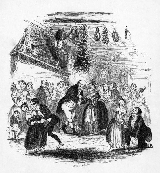 Christmas at Dingley Dell Date: First published: 1836-37