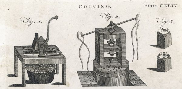 Coining machines