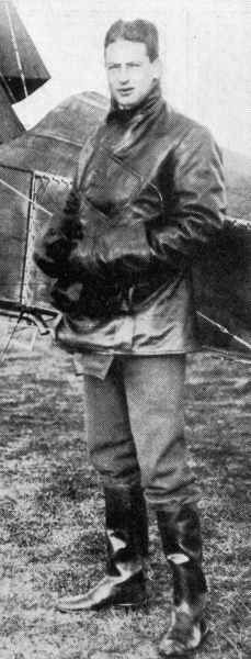 Photographic portrait of Colonel Archie Christie, first husband of Agatha Christie, pictured in his flying gear, c.1926. The Christies divorced in 1928, due in part to Archie's long running affair with another woman