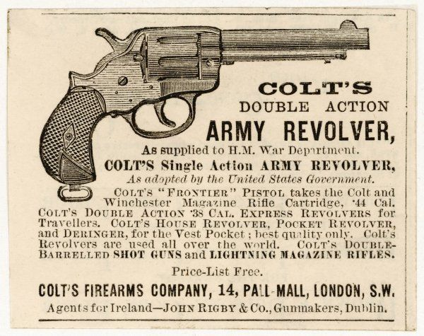 Colt's double action army revolver