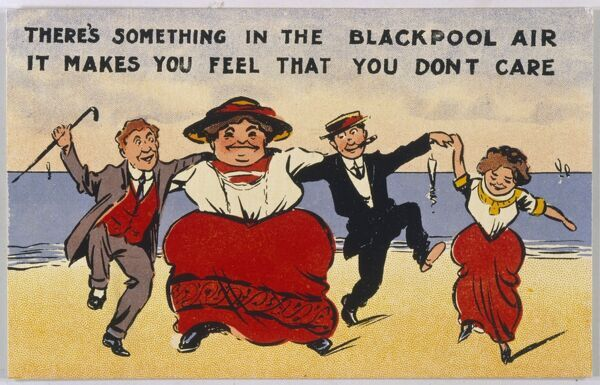 There's something in the Blackpool air, it makes you feel that you don't care