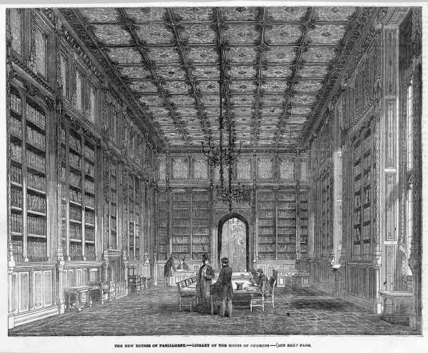 The Library in the new House of Commons