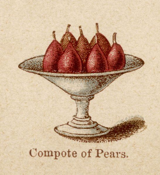 A Compote of Pears