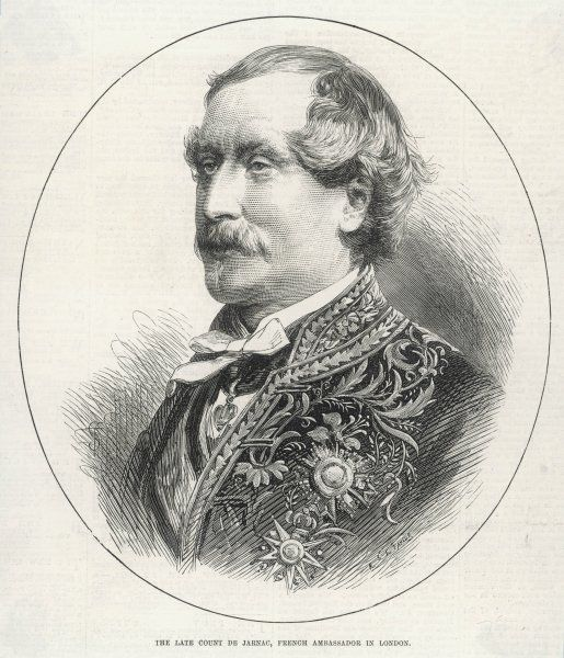 PHILIPPE FERDINAND AUGUSTE de CHABOT, comte de JARNAC French diplomat, ambassador of France at the court of St James, London